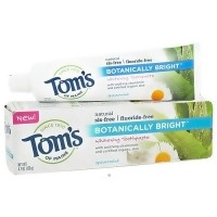 Toms of Maine Botanically Bright Toothpaste, Spearmint - 4.7 oz, 6 pack