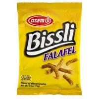 Osem bissli falafel flavored wheat snacks - 5 oz