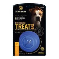 Starmark Pet Products everlasting treat ball usa - medium/1 pack, 18 ea