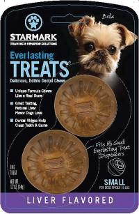 Starmark Pet Products everlasting treat bacon usa - small, 24 ea