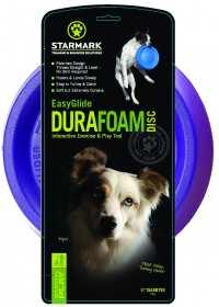 Starmark Pet Products easyglide durafoam disc dog toy - 11 in, 12 ea