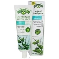 Natures Gate Creme de Peppermint Natural Toothpaste - 6 oz