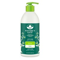 Natures Gate Tea Tree Skin Moisturizing Lotion  - 18 Oz