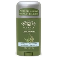 Natures Gate Organics Deodorant Stick, Lemongrass and Clary Sage - 1.7 oz