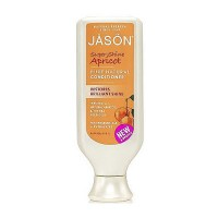 Jason Natural super shine apricot pure natural hair conditioner, 16 oz
