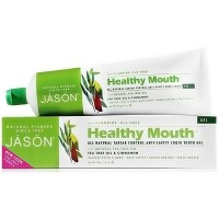 Jason Natural healthy mouth fluoride gel toothpaste, Cinnamon - 6 oz
