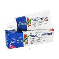 Jason Natural tooth gel oral comfort all natural whitening CoQ10 very berry mint - 4.2 oz