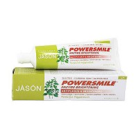 Jason Natural Powersmile Enzyme Brightening Toothpaste, Peppermint - 4.2 oz