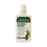 Jason Natural healthy mouth all natural mouthwash with tea tree and cinnamon - 16 oz