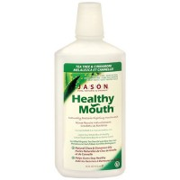 Jason healthy all natural mouthwash, Cinnamon clove - 16 oz