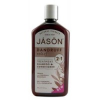 Jason body care  dandruff relief 2 in 1 shampoo + conditioner  -  12 oz