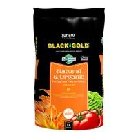 Sun Gro Horticulture black gold nat & organic potting mix omri - 16 qt, 1 ea