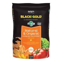 Sun Gro Horticulture black gold nat & organic potting mix omri - 2 cf, 1 ea