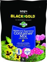 Sun Gro Horticulture black gold moisture supreme potting mix - 8 qt, 8 ea