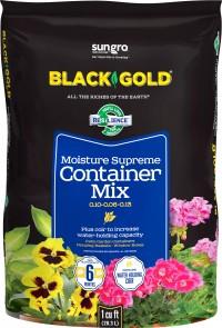 Sun Gro Horticulture black gold moisture supreme potting mix - 1 cf, 0 ea