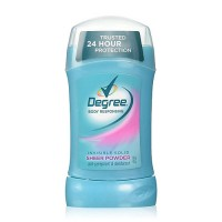 Degree women anti-perspirant and deodorant invisible solid, sheer powder - 1.6 oz