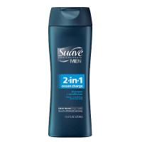 Suave For Men, 2 In 1 Shampoo and Conditioner, Advanced Formula - 14.5 Oz
