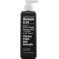 Mill Creek Botanicals Biotene H-24 Natural Extra Body Styling Hair Gel - 8.5 Oz