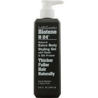 Mill Creek Botanicals Biotene H-24 Natural Extra Body Styling Hair Gel - 8.5 Oz