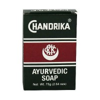 Chandrika Ayurvedic herbal and vegetable oil soap - 2.64 oz, 10 pack