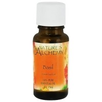 Natures Alchemy Basil Pure Essential Oil - 0.5 oz