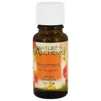 Natures Alchemy 100% Pure Essential Oil of Peppermint - 0.5 oz