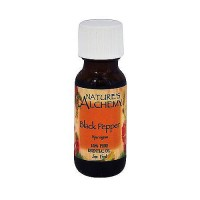 Natures Alchemy Black Pepper Essential Oil - 0.5 oz