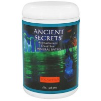 Ancient Secrets aromatherapy dead sea mineral baths, Eucalyptus, 2 lbs