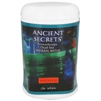 Ancient Secrets aromatherapy dead sea mineral baths, Patchouli - 2 lbs