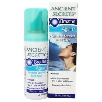 Ancient Secrets Breathe Again Nasal Spray - 3.38 oz