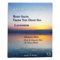 Ancient Secrets Dead Sea Lavender Mineral Bath Salts - 1 lb