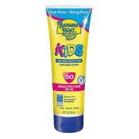 Banana boat kids broad spectrum sunblock lotion spf 50, tear free - 8 oz