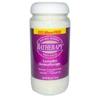 Batherapy bath salts lavender plus patchouli oil - 20 oz
