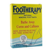 Queen Helene FootTherapy Natural Mineral Foot Bath Foot Salts - 3 oz, 6 pack