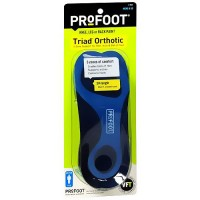 Profoot triad insoles for mens - 1 pair