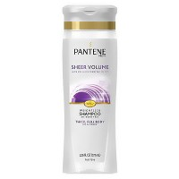 Pantene pro-v fine hair solutions flat to volume shampoo - 12.6 oz