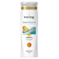 Pantene pro-V medium thick hair shampoo, frizzy to smooth - 12.6 oz