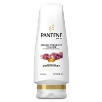 Pantene pro-v hair color preserve conditioner, volume - 12.6 oz