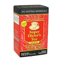 Natrol Laci Le Beau Super Dieters Tea Bags, Original - 15 ea
