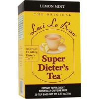 Laci Le Beau Super Dieters Tea Bags, Lemon Mint - 30 Ea