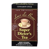 Laci le beau super dieters tea bags cinnamon spice- 30 ea