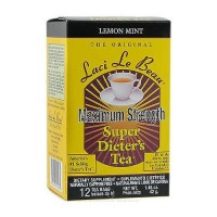 Laci Le Beau maximum strength super dieters tea, Lemon mint - 12 ea