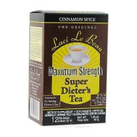 Laci Le Beau maximum strength super dieters tea cinnamon spice - 12 ea