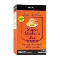 Laci Le Beau super dieters tea apricot caffeine free tea bags - 30 ea
