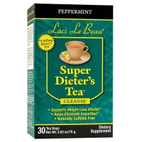 Laci Le Beau Super Dieter's Tea Peppermint - 30 ea