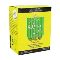 Laci Le Beau super dieters tea bags, lemon mint - 60 ea