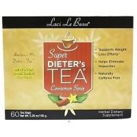 Laci Le Beau super dieters tea bags, cinnamon spice - 60 ea