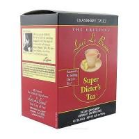 Laci Le Beau super dieters tea bags, cranberry twist caffeine free - 60 ea