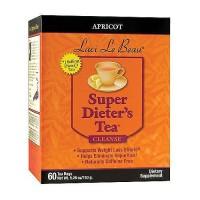Laci Le Beau apricot super dieter's tea cleanse, Caffeine free - 60 tea bags