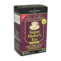 Laci Le Beau Super Dieters Tea Cleanse with Acai Berry - 30 Tea Bag
